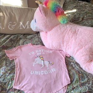 I'd rather be a unicorn tee